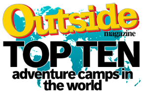 Outside Magazine Top 10 Adventure Camps in the World