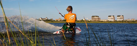 Kiteboarding By Yourself
