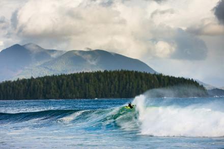 Josh Mulcoy Surfing