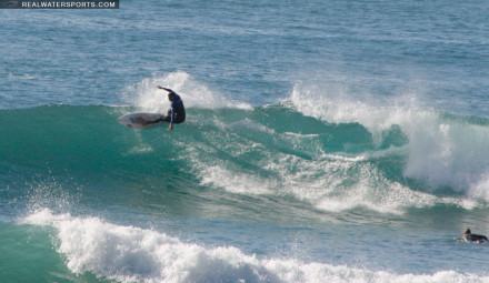 Toby Diggens Surfing in Morocco
