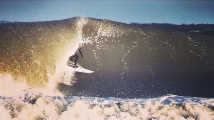 Matt Keenan Surfing In NJ