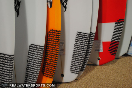 Lost V2 Shortboards and V3 Rockets With Carbon Tail Patches