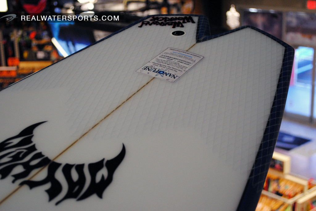 White Tail Patches On 2014 Lost Surfboards