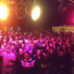View from the stage in Argentina