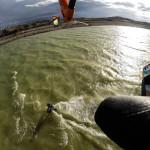 Big air kiteboarding with Brandon