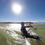Brandon Kiteboarding In Argentina