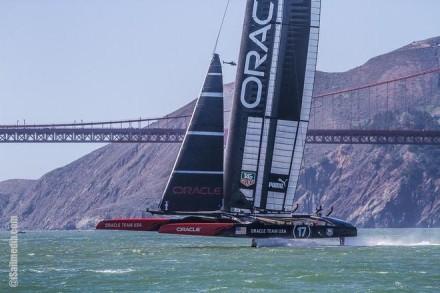 Oracle team USA riding high