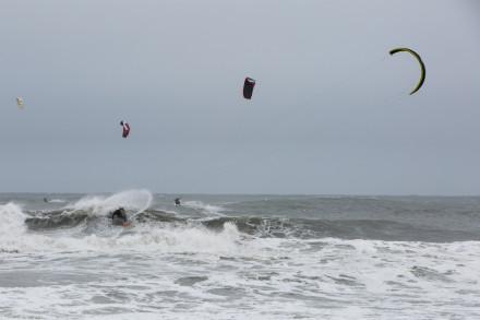 Ian Alldredge Kitesurfing - Photo: Nate Appel
