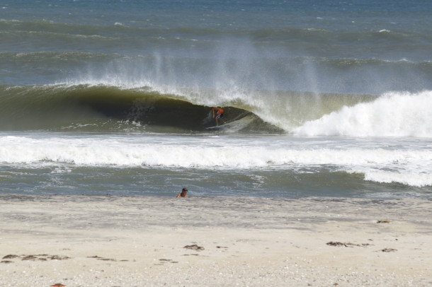 REAL teamrider Josh Mulcoy scoring september sessions in Cape Hatteras