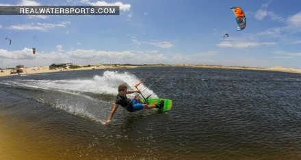 Brandon Scheid riding his Liquid Force Envy
