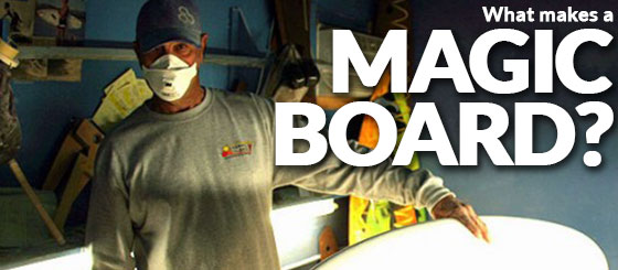 What makes a magic board?