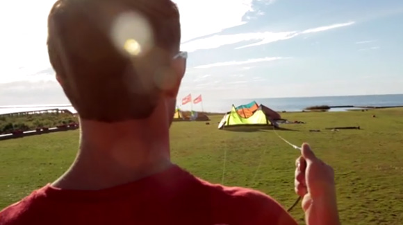 untangle kite lines