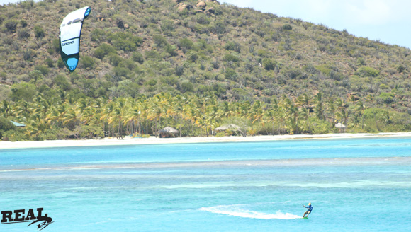 REAL Pro Coach Paul Cameron in the BVIs
