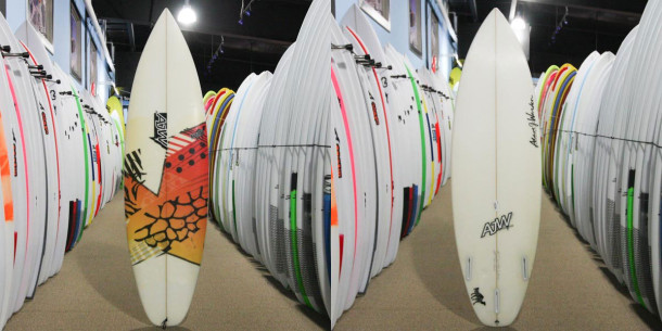 This board was rated 3-stars because it has some signs of yellowing and some pressure dents.
