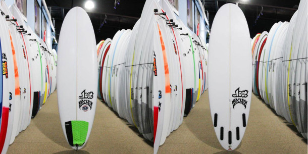This 5-star surfboard was barely used and traded in amazing condition.