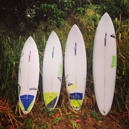 Rawson Snipers covering the top-end of this Hawaii quiver.