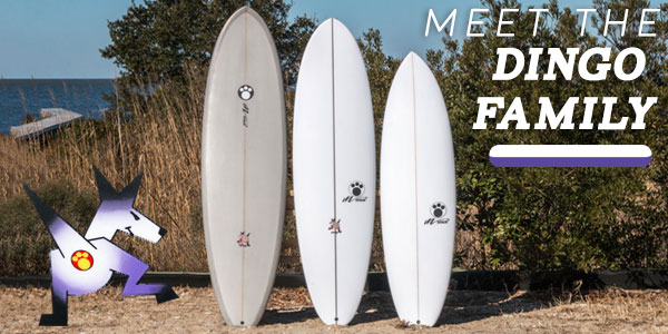Maurice Cole Dingo Family Surfboards