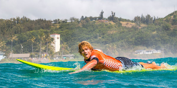 JJF, all smiles on the Crazy Train    Photo: Quiksilver/Noyle