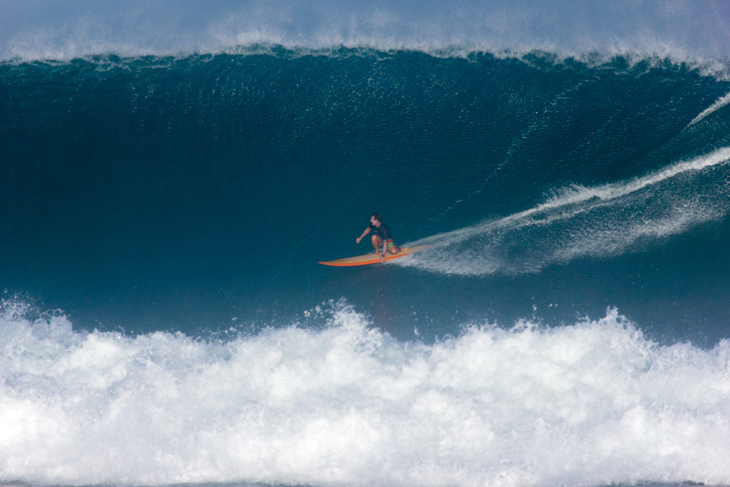 Trip Forman / Rawson 9'10 Gun / January 12 / Puerto Rico / 📷 John Cosby