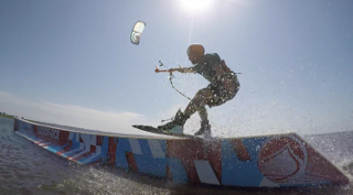 REAL Coach, Aaron Roberts demonstrating directional Wakestyle
