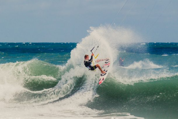 Kevin Langeree at the 2014 Cape Hatteras Wave Classic presented by Patagonia | Photo by Jason Hudson