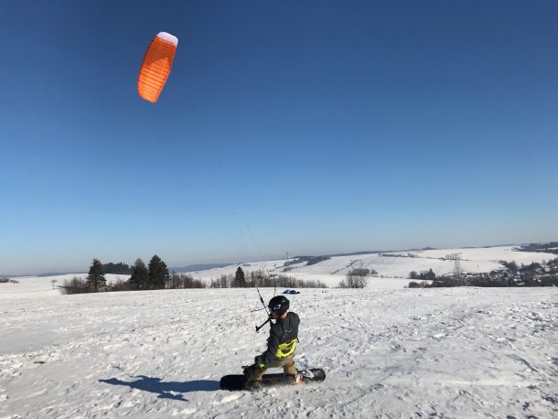 Matt Nuzzo testing the Frenzy in The Czech Republic