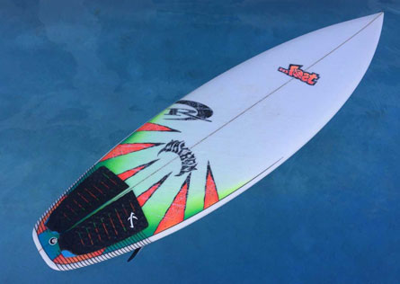 Lost Voodoo Child Surfboard — REAL Watersports
